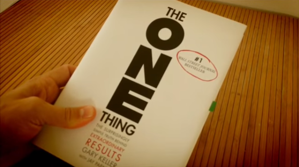 What Is Your One Thing?