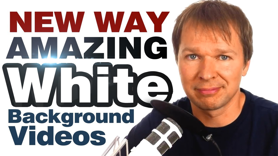 NEW Way To Create AMAZING White Background Videos
